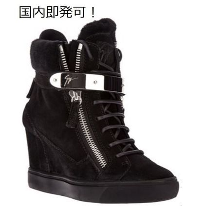 Conceal Wedge Sneakers