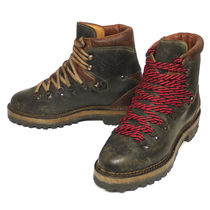 Ralph Lauren Mountain Boots Rubber Sole Leather Outdoor Boots