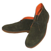 Ralph Lauren Plain Toe Suede Oxfords