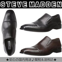 Steve Madden Plain Leather Loafers & Slip-ons