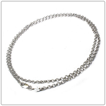 80fb4bb10b3e ... CHROME HEARTS Necklaces   Chokers Chain Silver Necklaces ...