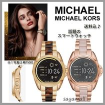 Michael Kors Round Stainless Oversized Elegant Style Digital Watches