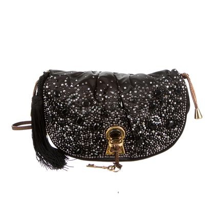 With Jewels Elegant Style Shoulder Bags