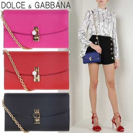 Dolce & Gabbana Calfskin 2WAY Clutches
