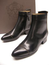 SARTORE Leather High Heel Boots