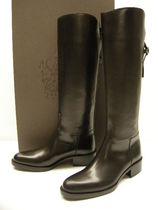 SARTORE Leather Mid Heel Boots