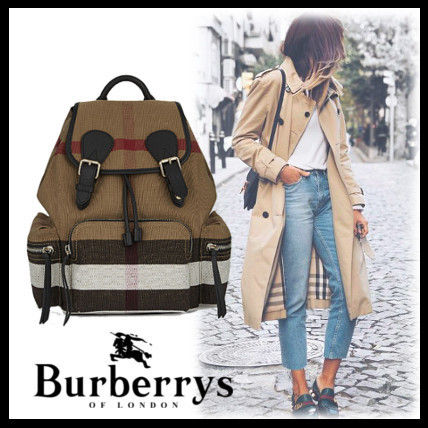 Burberry 2017SS check back pack
