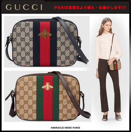 GUCCI 2WAY Other Animal Patterns Leather Elegant Style