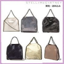 Stella McCartney FALABELLA Faux Fur 3WAY Plain Shoulder Bags