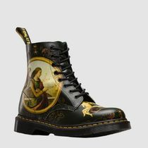 Dr Martens Collaboration Leather Mid Heel Boots