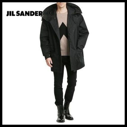Jil Sander Leather lace up boots