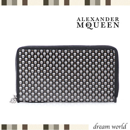 16 fall alexander mcqueen zip long wallet