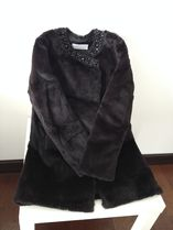 Diffusione Tessile Fur Plain Other Animal Patterns Medium Cashmere & Fur Coats