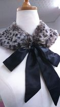 River Island Leopard Patterns Elegant Style Detachable Collars