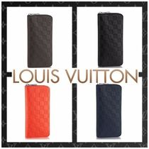 Louis Vuitton ZIPPY WALLET VERTICAL Monogram Street Style Plain Leather Long Wallets