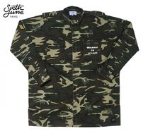 Sixth June Camouflage Street Style Long Sleeves Shirts