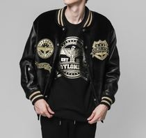 BOY LONDON Short Street Style Varsity Jackets