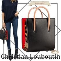 Christian Louboutin Paloma Leopard Patterns Casual Style Calfskin Bag in Bag 2WAY Chain