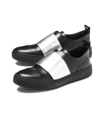 JIMMY CHOO sneakers BLACK/SILVER black BOSTON Boston