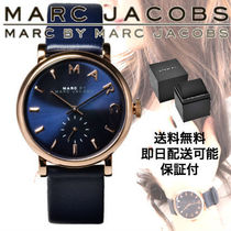 Marc by Marc Jacobs Unisex Leather Quartz Watches Analog Watches