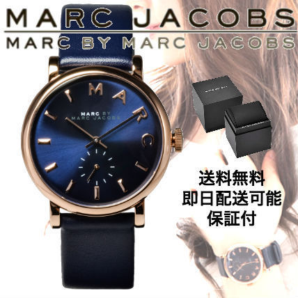 Marc by Marc Jacobs Unisex Leather Quartz Watches Marc Jacobs Watches