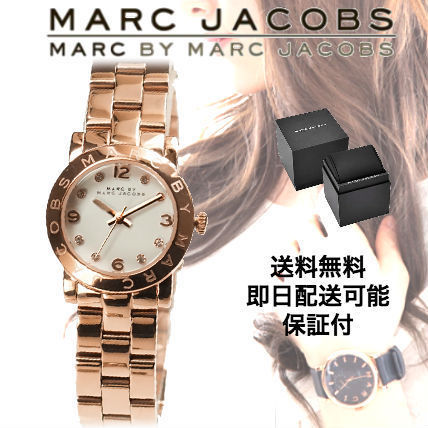 Marc by Marc Jacobs Metal Round Quartz Watches Marc Jacobs Watches