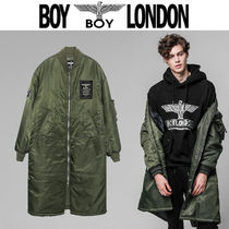 BOY LONDON Star Street Style Other Animal Patterns Long MA-1