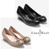 Cole Haan Leather Wedge Pumps & Mules