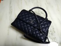 CHANEL MATELASSE 2WAY Leather Handbags