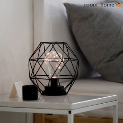 Wire dome LED interior light / table stand