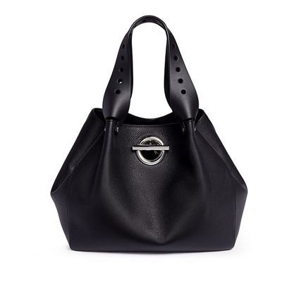 A4 Leather Elegant Style Totes