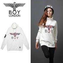 BOY LONDON Camouflage Casual Style Street Style Long Sleeves Plain