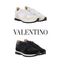 VALENTINO Studded Plain Sneakers