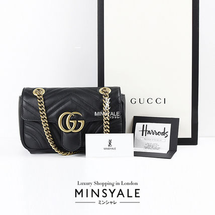 26e7fdc4 GUCCI GG Marmont Luxury Brand Bag Shoulder Bags by MINSYALE - BUYMA