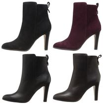 Coach Plain Leather Ankle & Booties Boots