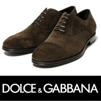 Dolce & Gabbana Suede Oxfords