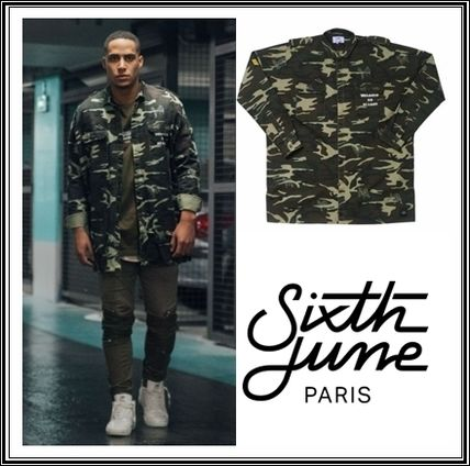 Sixth June Camouflage Long Sleeves Shirts