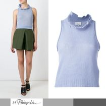 3.1 Phillip Lim Short Wool Tanks & Camisoles
