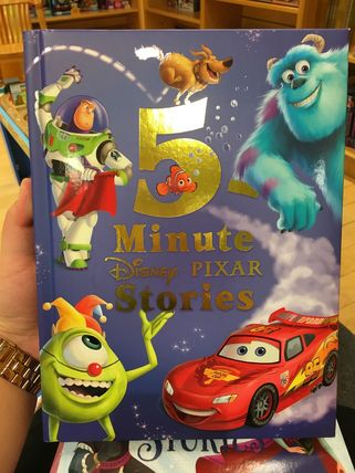 Disney Pixar five-minute stories