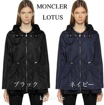 MONCLER LOTUS Plain Medium Elegant Style Coats
