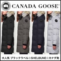 CANADA GOOSE SHELBURNE Fur Medium Down Jackets