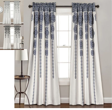 /Boho style medalen curtains