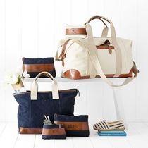 marc AND graham Unisex Canvas A4 2WAY Plain Boston & Duffles