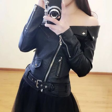 SALE riders jacket artificial leather