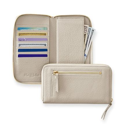 marc AND graham Long Wallets Unisex Plain Leather Long Wallets 4