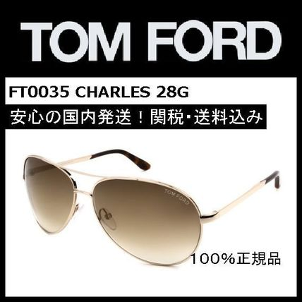 popular model TOM FORD FT0035 CHARLES 28G / black /