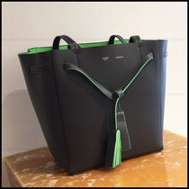 CELINE Cabas Phantom A4 Leather Office Style Totes