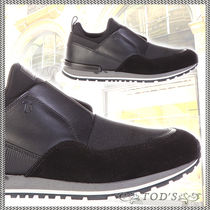 TOD'S Street Style Plain Leather Loafers & Slip-ons