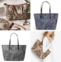 Michael Kors EMRY Paisley Monogram A4 PVC Clothing Office Style Totes