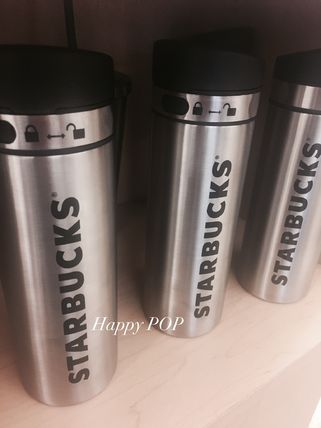 With the US STARBUCKS New 2017 Stainless Steel Tumbler lock